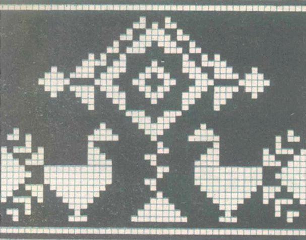 С XVIII века вышивание