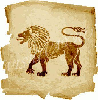 Бесплатные схемы лев вышивки крестом скачать