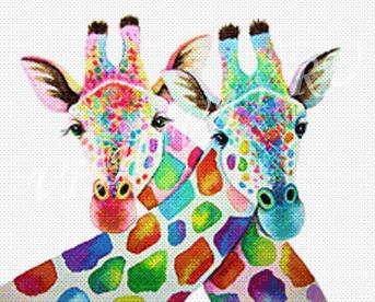 Жирафья парочка