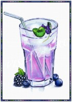Коктейль фиолетовый
