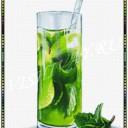 Коктейль зеленый