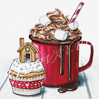 Зимний десерт