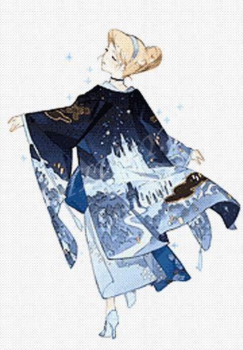 Принцессы в кимоно_Синдерелла