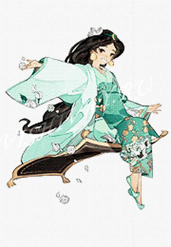 Принцессы в кимоно_Жасмин