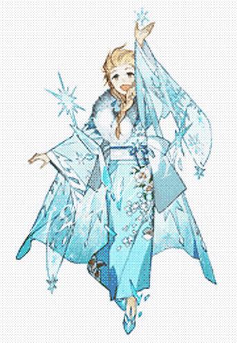 Принцессы в кимоно_Эльза